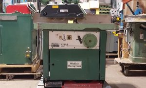 Wadkins Burgreen BER 4 Shaper with Power Feeder