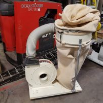 Used IMC Single Bag Dust Collector