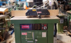 Cantek Shaper with tilting spindle