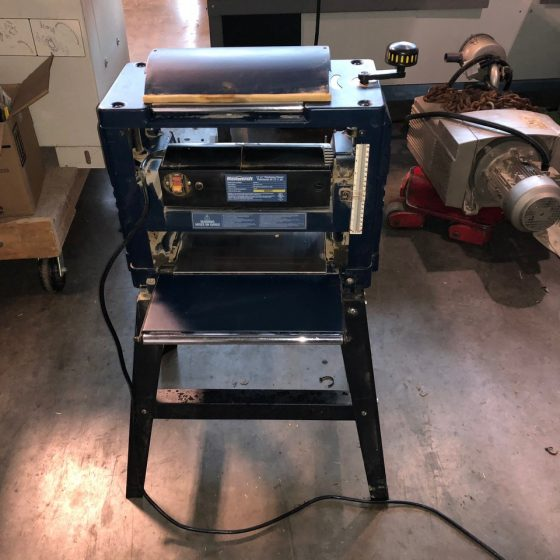 Mastercraft 12-1/2-in. Thickness Planer with Stand