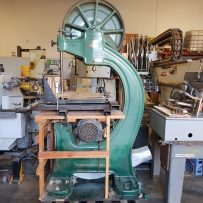 657-8 CENTAURO 3HP BANDSAW W VACUUM TABLE & VERTICAL GUIDE