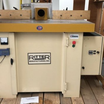 Used Ritter R1175 Shaper