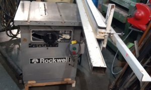 707-20 Rockwell Table Saw with Scoring blade2