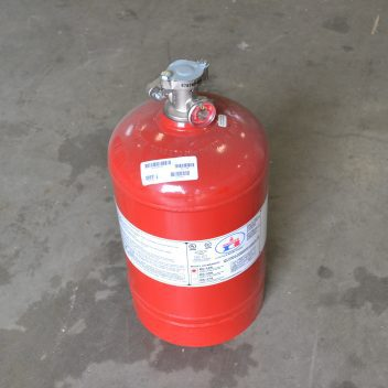 Used Badger DC-125 BC Dry Chemical Fire Extinguisher