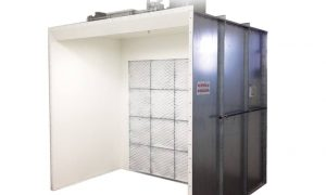 Devilbiss Industrial Open Paint Booth