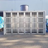 Used 12' Open Face Paint Booth