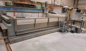SR126 CNC Granite Router with Centroid M400 Control System