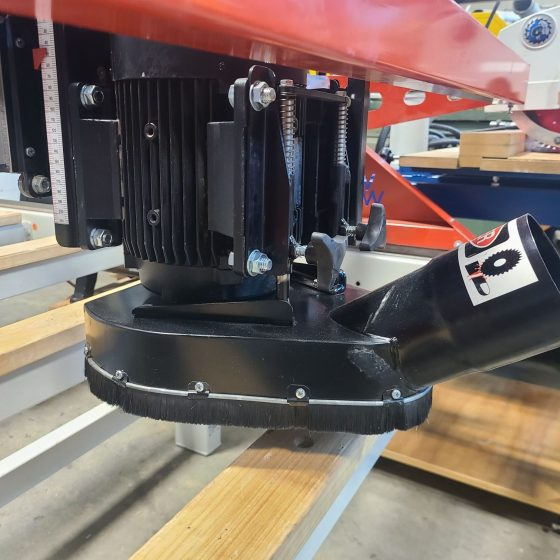 Wood Wizz Flatbed Surfacing and Finishing Machine