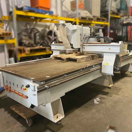 Used FlexiCAM Stealth CNC Router 5' x 10' Table