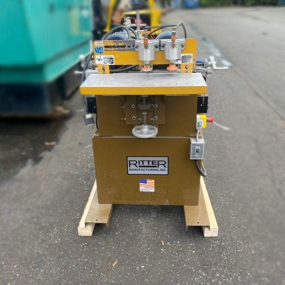 Ritter Double Spindle Boring Machine