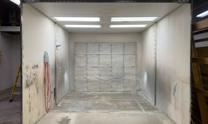 Closed Paint Booth