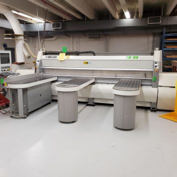 Used Selco EB 80 front load beam saw for sale