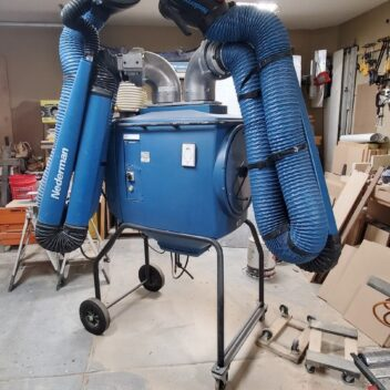 Used Nederman Filterbox Twin Dust Collector