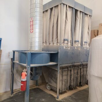 Used Belfab 20 hp Dust Collector