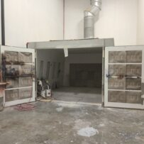Used Closed Paint Booth