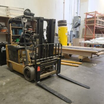 Used CAT E6000 Electric Forklift