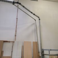Used Dust collection Dust Pipe