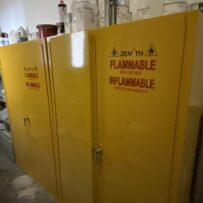 Used Fire Proof Chemical Storage Cabinet