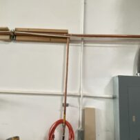 Used Copper Air Lines with Quick connects