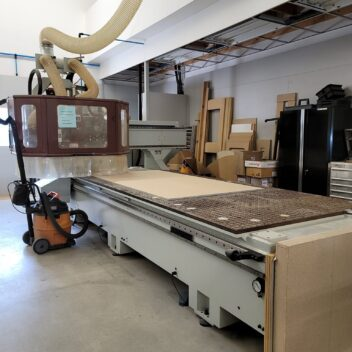 Used Anderson Stratos Pro 5x12 nesting CNC