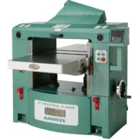 Used Grizzly Planer G0603X Helical head